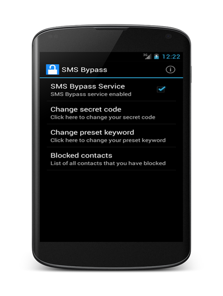 Программа SMS Bypass