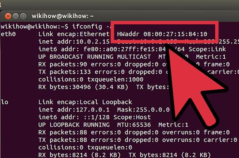 MAC адрес в ОС Linux