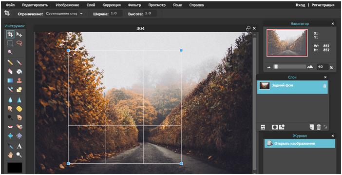 программа для обрезки фотографий онлайн - фото 3