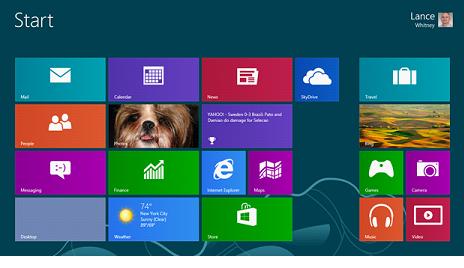 Можно вернуть привычный интерфейс и пусковое меню в Windows 8