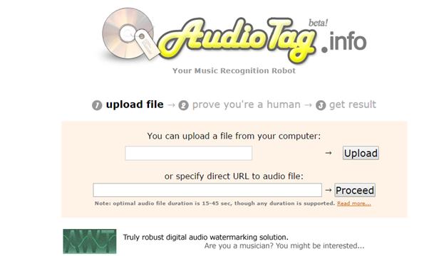 AudioTag Info
