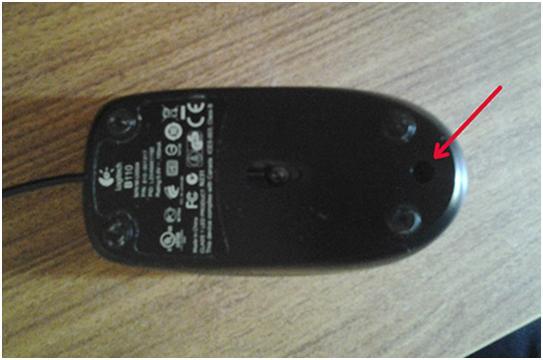 Переворачиваем мышку