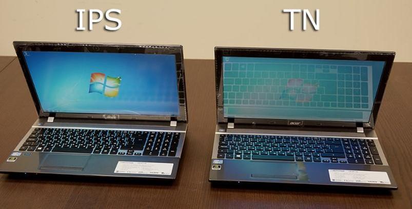 Матрицы IPS и TN
