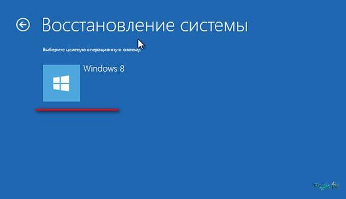 Программа для восстановления системы windows 8 интуитивно понятна и легка в использовании