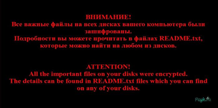 Цель злоумышленников – заблокировать вам доступ к важной личной информации