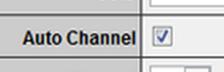 Назначение каналов