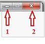 Сверните раскладку в панель задач или закройте полностью
