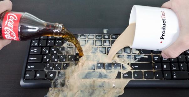 Залитая клавиатура