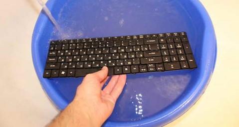 Промывка клавиатуры