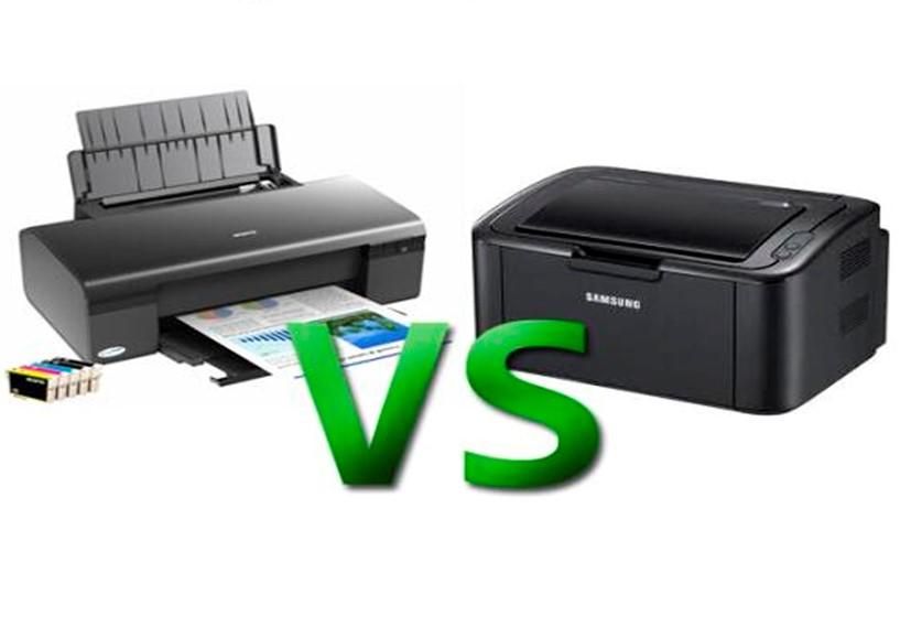 Струйный и лазерный принтер