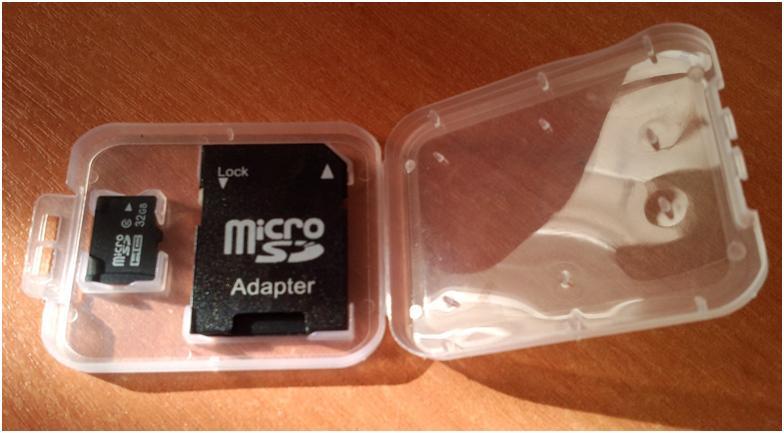 Превращение microSd в SD