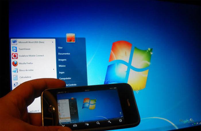 При наличии соответствующего программного обеспечения смартфон, планшет и др. обладают способностью работать как компьютерная мышь, клавиатура, джойстик с персональным компьютером