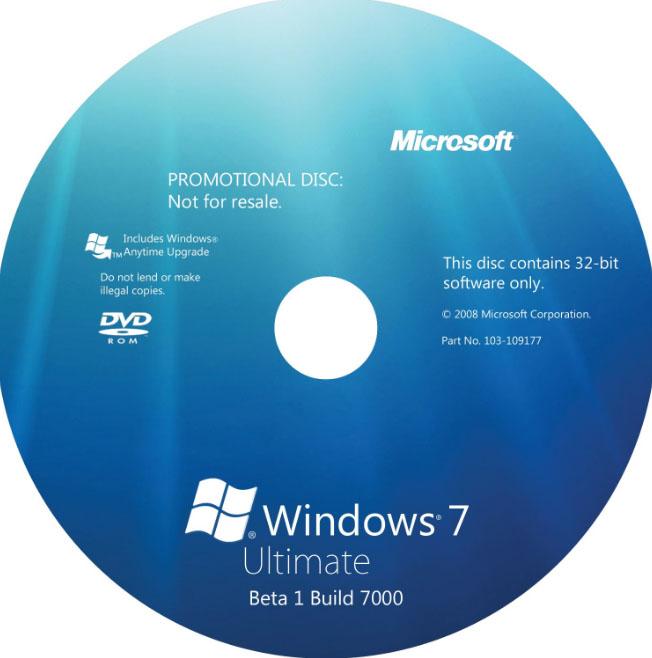 диск Windows 7