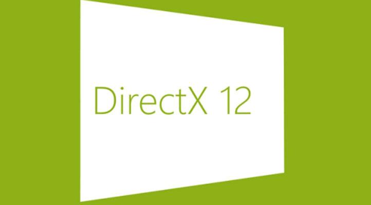заставка DirectX