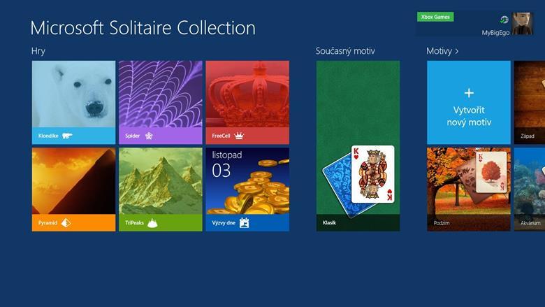 Напечатайте в строке поиска на стартовой странице Solitaire Collection, кликните по нашедшемуся ярлыку.