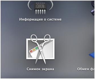 Приложение Снимок экрана