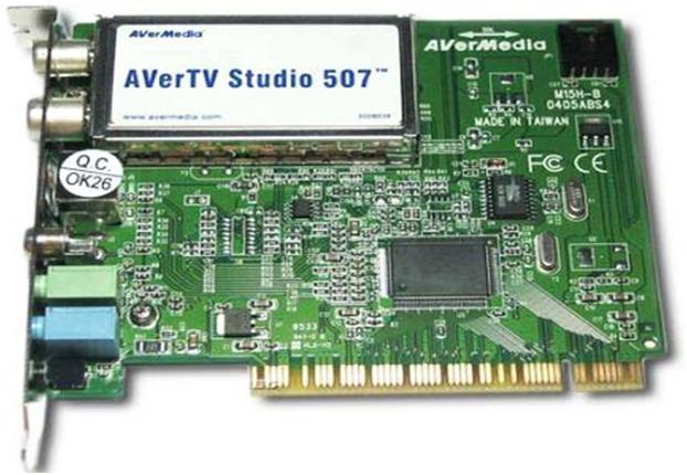 TV-модуль, который вставляется в разъём материнской платы