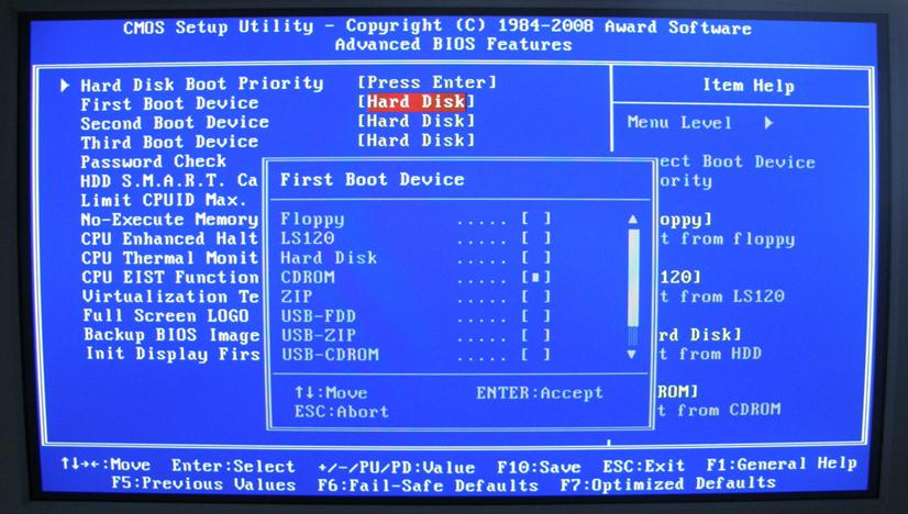 Сохраняем произведенные изменения нажатием клавиши F10 клавиатуры или сочетанием клавиш «Exit» и «Save»