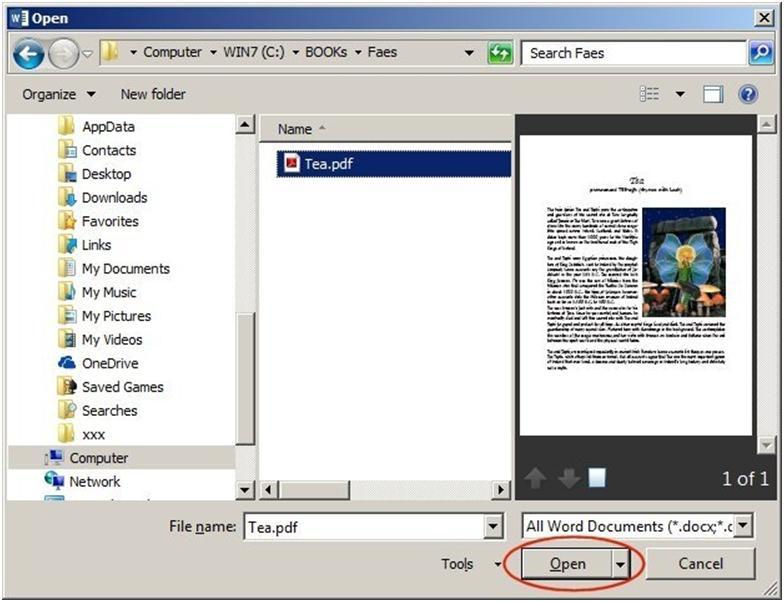 Предыдущие версии Microsoft ограничивались функцией сохранения файла в PDF-формате
